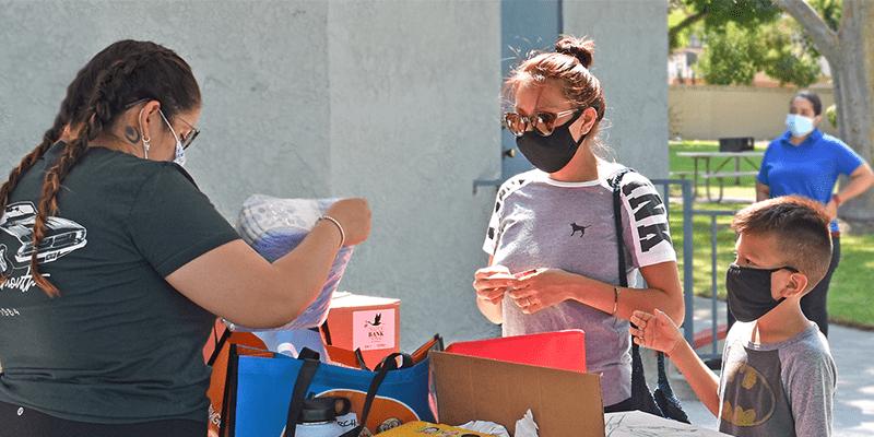 Emergency Food Program Serves Hundreds of OC Families