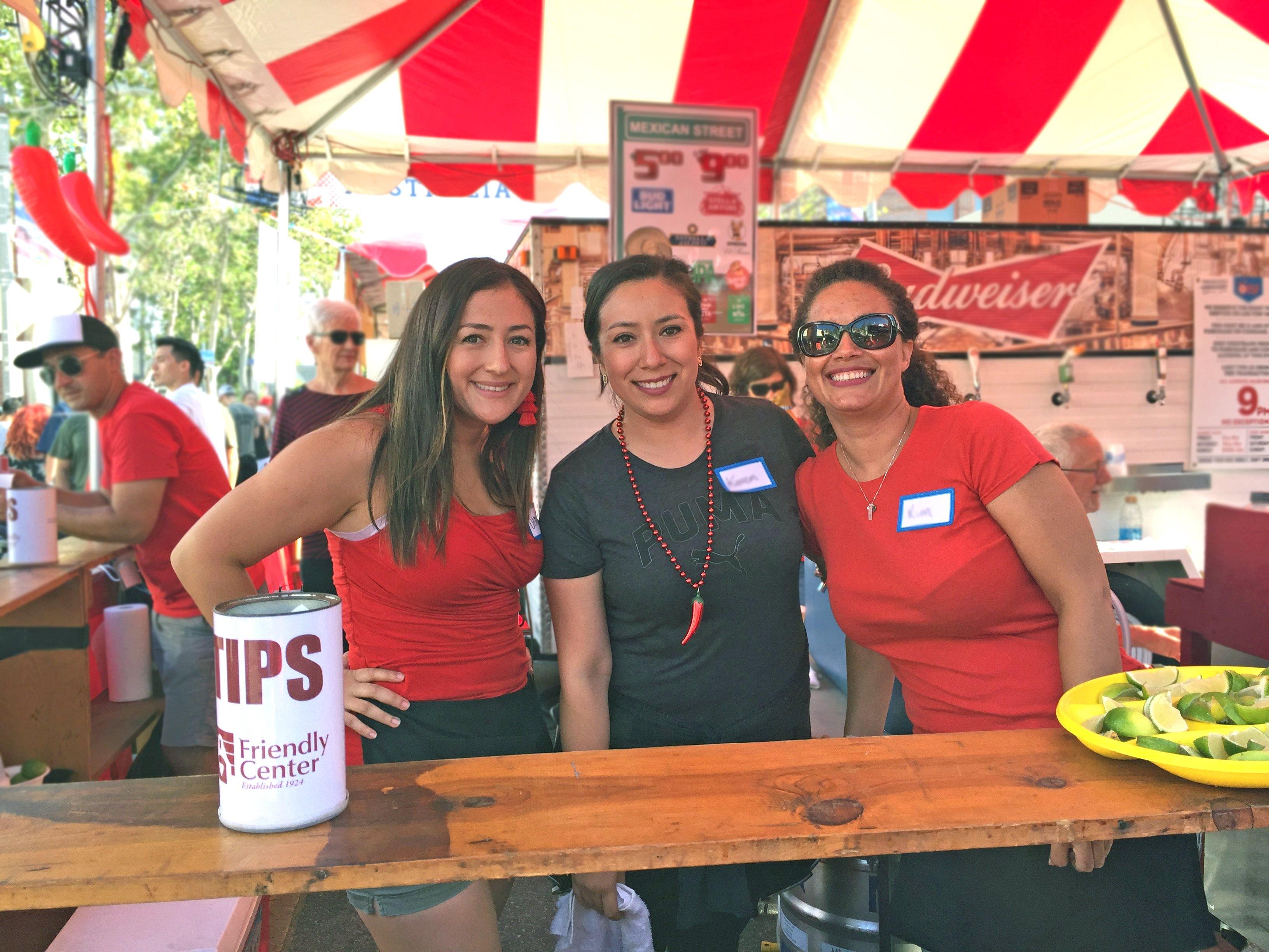 A Street Fair Fiesta: Good Food for a Good Cause