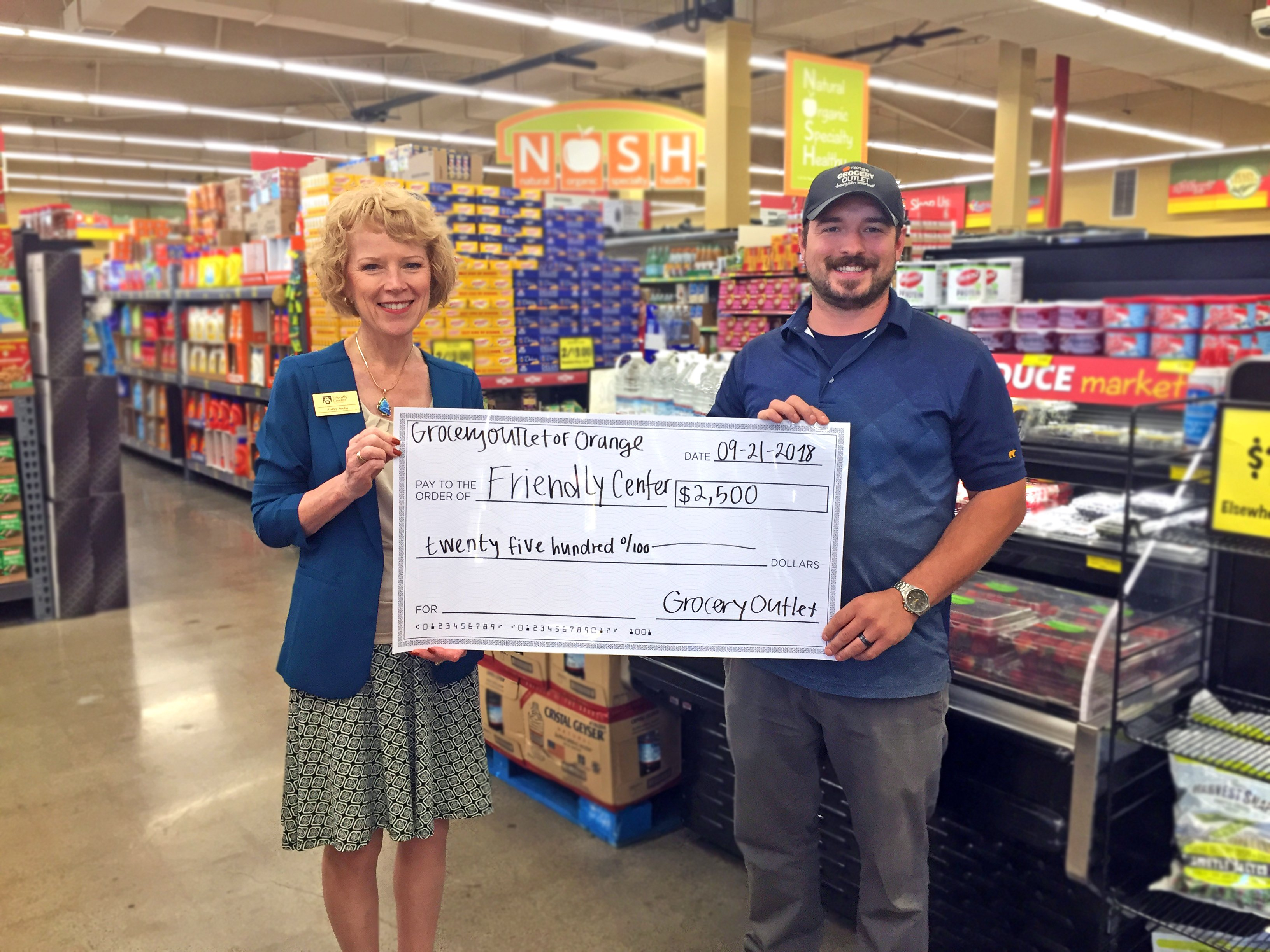 Donor Spotlight: Grocery Outlet Orange Raises Support & Awareness of Food Insecurity